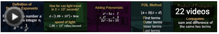 Images conjugates, foil method, adding polynomials, speed of light